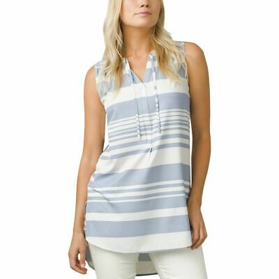 Prana Natassa Tunic - Women's Fairhope Blue Stripe S