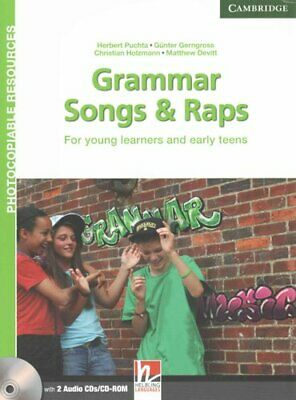 Grammar Songs and Raps Teacher's Book with Audio CDs (2) For Yo... 9781107625181
