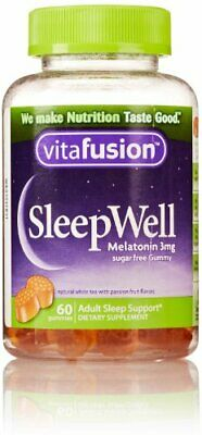 Vitafusion Sleep Well Gummy Vitamins 60 Count (Packaging May Vary)
