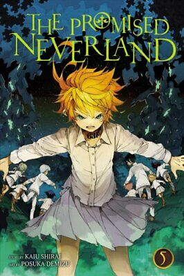The Promised Neverland, Vol. 5 by Kaiu Shirai 9781421597164 | Brand New