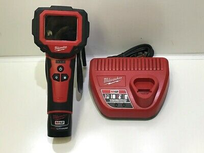 Milwaukee M-Spector 2313-21 M12 12V LiIon Cordless 360 Digital Inspection Camera