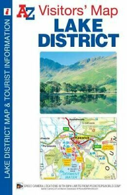 Lake District Visitors Map by Geographers' A-Z Map Company 9781843489566