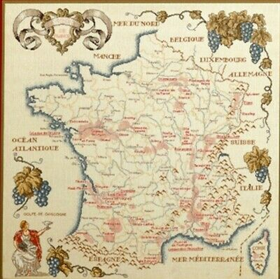 Permin- Vintage  X-kit Map of France 70-9320