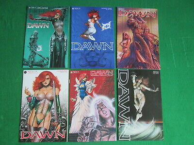 Dawn - Issues 1 To 6 - 1995-96 Sirius Comic Set