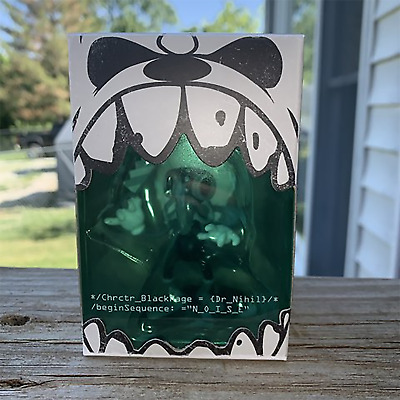 """Brand New Ghostemane BlackMage 3"""" Dr. Nihil Vinyl Figure Toy (N/O/I/S/E) SOLDOUT"""
