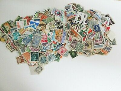 Lot of 1000+ worldwide stamps, used off paper Good/very good From estate sales