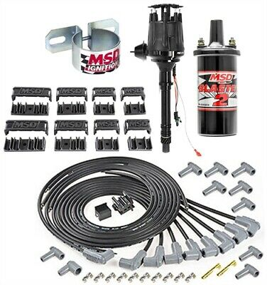 MSD IGNITION COMPLETE Kit Digital 6A /Distributor/Wires/Coil