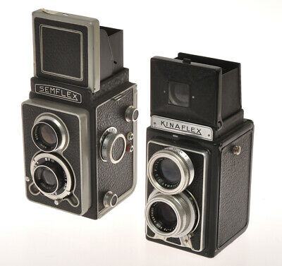 Sem & Kinax, couple of French TLR cameras Semflex and Kinaflex, nice condition