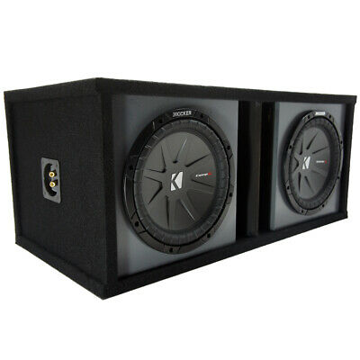 """Kicker 40CWR102 CompR 10"""" Subwoofers with Paintable Box"""