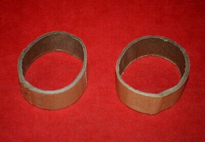 Pair Of Original Lionel Alco Coupler Protection Rings - No Reserve