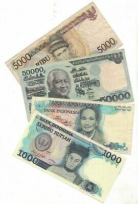 Indonesia 8 Notes VF to Unc