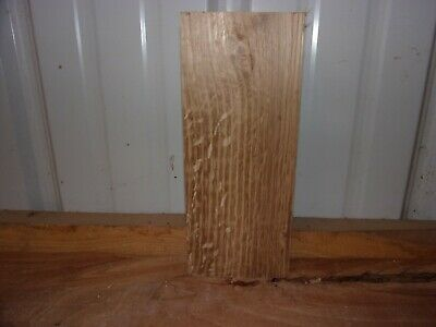 """1 Pc White Oak Lumber Wood Air Dried Board 1 5/8"""" Thick 460A Carving Block Flat"""