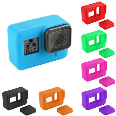 For Gopro Hero 7 6 5 Camera Accessories Silicone Lens Protective Cover Case HS2