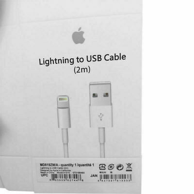 OEM Original 2M Apple Lightning USB Cable Charger for iPhone 6 6s 7 8 Plus 5c