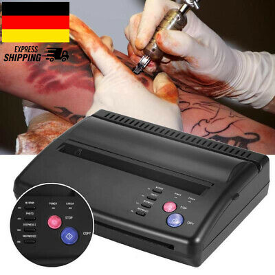 Tattoo Thermokopierer Tätowierung Transfer Drucker Machine Tätowierer DE