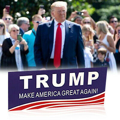 100PCS Donald Trump Bumper Sticker 2020 Keep America Great Sticker Decor