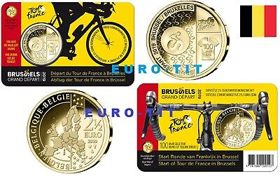 2019  BELGIQUE    TOUR  DE  FRANCE 2019    COINCARD  2,50     2019    disponible