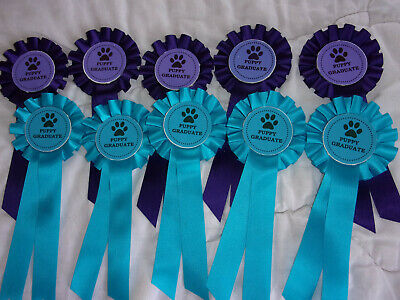 Puppy  Graduate Rosettes Ideal For Trainer,S Award X 10 (2019)