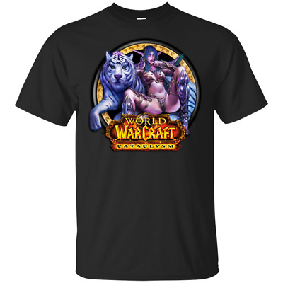 World of Warcraft² Classic T-Shirt 2019 Awesome Gifts MEN Black S-5XL Gifts