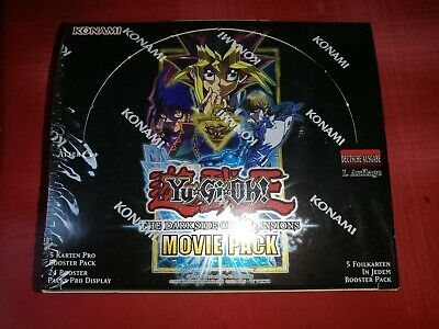 Yugioh The Dark Side of Dimensions Movie Pack  Display Deutsch 1.Edition OVP
