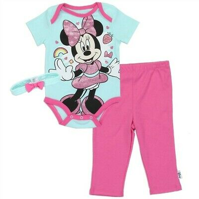 Disney baby girl 3 piece crawler. Size0-3 months U.S.A. more to our Disney items
