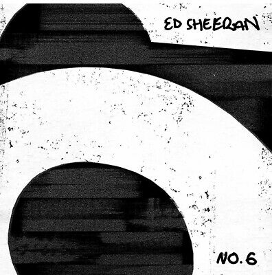 ED SHEERAN No.6 COLLABORATIONS PROJECT CD ALBUM (Released JULY 12 2019)