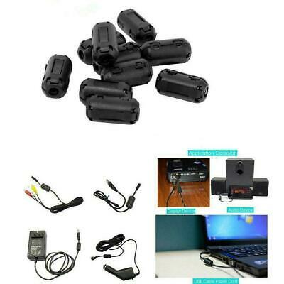 Cable Clips Clip-on Ferrite Ring Core RFI EMI Noise NEW Bead Suppres G0B2