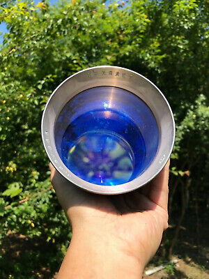 Triplet 3.65 / 365mm USSR Russian overhead projection Lens episcope astronomica
