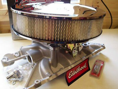 Land Rover V8 Edelbrock 500 AVS2 Carb, Manifold & Air Cleaner ( + Performance)