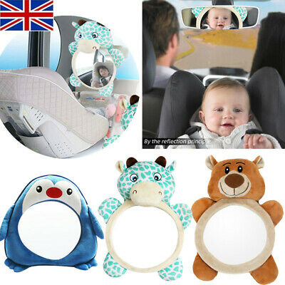 Safety Seat Car Back Interior Baby Mirror Headrest For Kids Rear Facing Mirrors