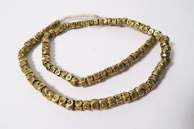 Neue Messingperlen Tuareg AB53 New Brass African Trade Beads Tuareg Afrozip