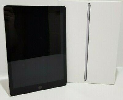 "Apple iPad 6th Generation (A1893) 9.7"" 32GB iOS WIFI Space Grey Tablet - Boxed"