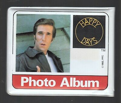 1982 Happy Days TV Show Photo Album Fonzie Richie Potsie Ralph Cha Chi