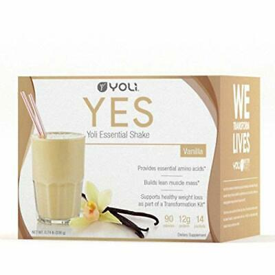 Yoli Yes Vanilla Protein Shake 10 Packets BRAND NEW and SEALED!!