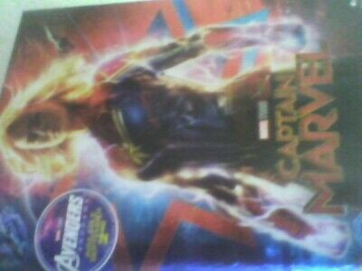 Captain Marvel [Blu-ray] new sealed with slip case free post