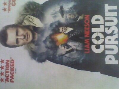 COLD PURSUIT (Blu-ray)new sealed with slip case free post