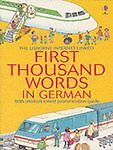 (Good)-First 1000 Words: German (First Thousand Words Mini) (Paperback)-Amery, H
