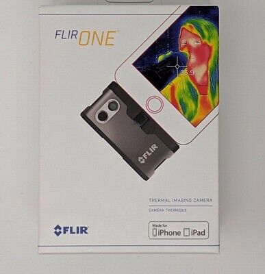Flir One Thermal Imaging Camera Brand New In Box All Accessories For iPhone Ipod
