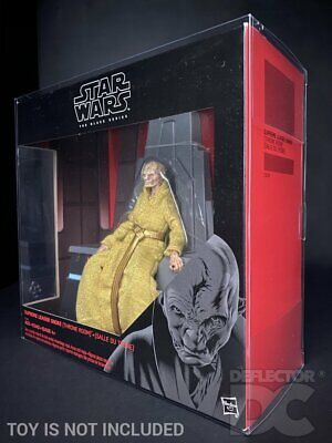 Star Wars The Black Series 6 Inch Snoke Throne Room Protective Display Case