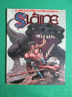 Slaine - Book One - Pat Mills - 1986 Titan Graphic Novel