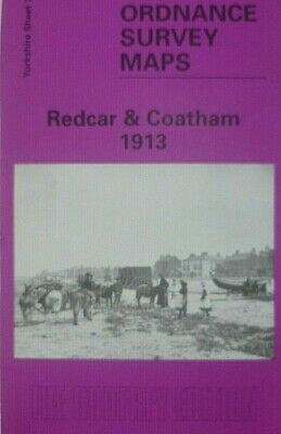 Old Ordnance Survey  Maps Redcar & Coatham Yorkshire 1913 Godfrey Edition New