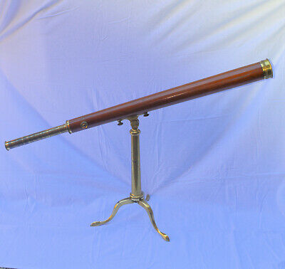 Library telescope & case – Dollond