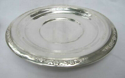 International Courtship Sterling Silver Platter Tray Bowl 10 No Mono 236 grams
