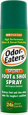 Odor-Eaters Sport 24 Hr Odour Destroying Anti-perspirant Foot and Shoe Spray