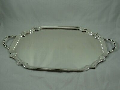 SUPERB solid silver TRAY, 1936, 1361gm