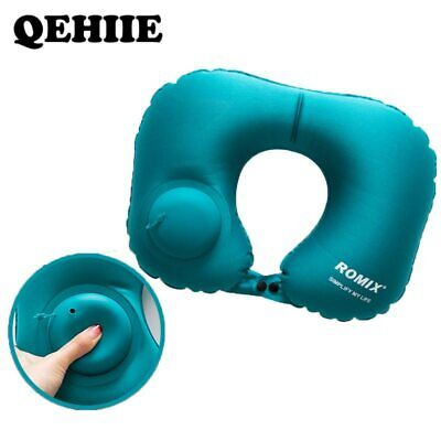Inflatable Pillow Travel Cervical Pillow  Automatic Inflatable Folding Portable
