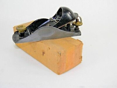 Superb Stanley # 9 1/4 Adjustable Block Plane In Original Box Inv T5248