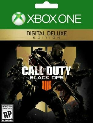 Call of Duty Black Ops 4 Digital Deluxe Edition (Microsoft Xbox One, 2018)