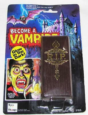 Vintage Rare Unopened Become A Vampire Kit made by Toys N' Things