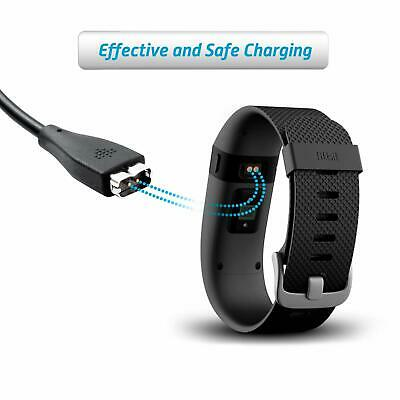 for Fitbit Charge HR Charger USB Replacement Charging Cable Cord with Fitbit